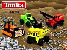 2003 McDonalds Tonka Trucks MIP Complete Set - Lot of 4, Boys, 3+
