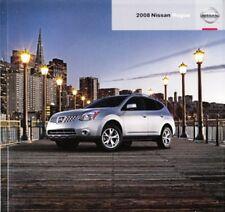 2008 08 Nissan Rogue original sales brochure