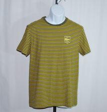 Lacoste Multi-Color Striped Short Sleeve Crewneck Shirt Men's Sz 5 US M