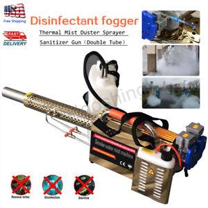 Thermal Fogger Machine ULV Disinfection mist Sprayer Portable Farm Industrial15L