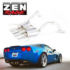 VALVE TRONIC Exhaust ZEN-Rage Axle-Back 2009-2013 Chevrolet CORVETTE C6 6.2L V8