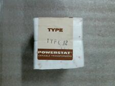Superior Electric 315 0267 Type 12 Powerstat Variable Transformer Factory Sealed