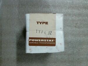 Superior Electric 315-0267 Type 12 Powerstat Variable Transformer FACTORY SEALED