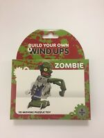 Build Your Own Wind Up ZOMBIE 3D Moving Puzzle Toy -Stocking / Gift  - NEW