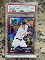 Cody Bellinger 2017 Optic Purple Prizm Rated RC LA Dodgers PSA 9 Mint POP 9