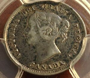 1889 Canada 5c. PCGS VF30 Beauty Price Reduced Scratch-Free Holder CHN!