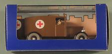 Tintin Herge voiture 51 Ambulance Chicago Amerique atlas 1/43