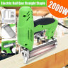 Electric Staple Gun framing Straight Nail Heavy Duty Stapler Woodworking Tool