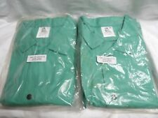 Pair Of Steiner 30 Green Welding Fire Retardant Jackets Size 5x 10307
