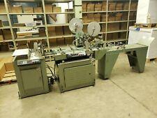 Kirk Rudy 527 Tabber/Sealer /W 324T Feeder & Exit Conveyor