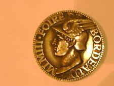 Médaille En Argent  MASSIF1967 FOIRE DE BORDEAUX   SILVER