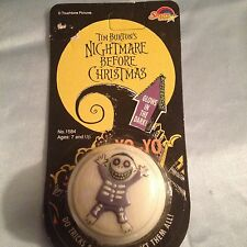 NEW SEALED NIGHTMARE BEFORE CHRISTMAS GLOW IN THE DARK YO-YO MIP CARDED NICE