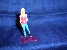 BARBIE BLUE JEANS 2 5 Mini Plastic Figurine KINDER SURPRISE Figure MATTEL 2012