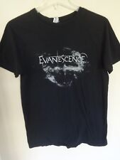 Euc * Evanescence * Band Graphic Printed Rock Band Tour T-Shirt Men Medium