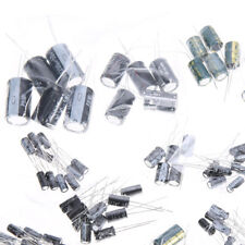 120pcs 15 Values  (1uF-2200uF) 50V Electrolytic Capacitor Assortment Kit Set US