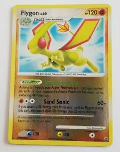 Flygon Secret Wonders Holo Pokemon Card TCG
