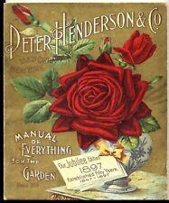 Vendedor de Estados Unidos-Manual de todo para la oficina de tienda de oficina de jardín 1897 Cartel