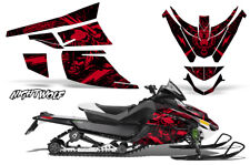 Arctic Cat Z1 Turbo Decal Graphics Kit Sled Snowmobile Wrap 06-12 NIGHTWOLF RED