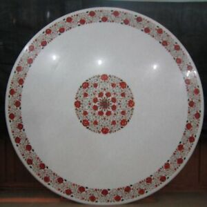 """52"""" Marble center Table Top  Pietra Dura Inlay Home Decorative"""