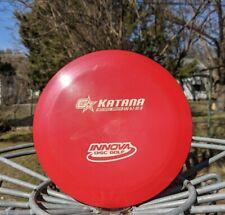 Innova rare greatcond pract field 2015 Penned Super Flat early Gstar Katana 175g