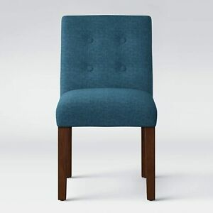 Ewing Modern Dining Chair with Buttons Blue - Project 62 SET OF 4