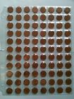 Lot of 88 Canadian 1959 Small Penny, Circulated (Lot #B7)