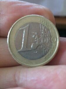 Moneta 1 euro Beatrix  Koninginder  emissione 2001   RARA - Circolata -
