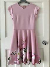 Ted Baker Skater Dress Size 1 (Size 8) Immaculate Condition
