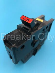 Federal Pacific NA140 40 Amp 1 Pole Type NA Stab-lok Thick FPE Circuit Breaker