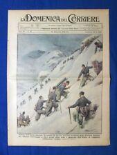 La Domenica del Corriere 25 settembre 1938 Ortles - Callifornia - Mussolini