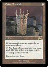 GRIM MONOLITH Urza's Legacy MTG Artifact RARE