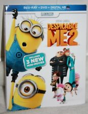 Despicable Me 2 (With 3 Mini Movies)  Blu-Ray / DVD / Digital HD -  New
