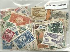 Lot de  timbres des colonies francaises avant indépendance