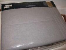 Ralph Lauren GREY HABERDASHERY HOXTON Full Queen Quilted Coverlet NEW