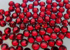 Cuentas sueltas de joyería redondas color principal rojo