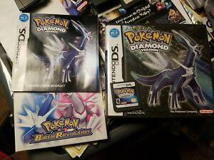 Pokemon Diamond Version (Nintendo DS, 2007) Complete in Box Authentic Working