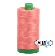 Aurifil Cotton Quilting Thread 40wt - 1000m - 2225 - Salmon