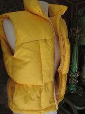 COACO NewYork Yellow 80% Down Vest /jacket size S