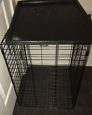 "30"" Midwest iCrate Medium Pet Dog Metal Cage W/ Single Door Folding Kennel Crate"