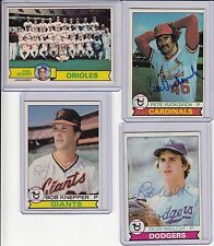 1979 Topps signed Pete Vuckovich signed autograph with COA
