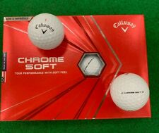 Callaway Chrome Soft Golf Balls - 2020 - New in Box!