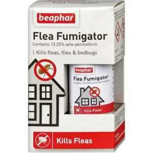 Beaphar Household Flea Fumigator X2 Pest Control Kills Fleas, Flies, Bedbugs.