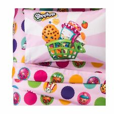 SHOPKINS SPK Food Girls 3-piece Microfiber Twin Sheet Set NIP