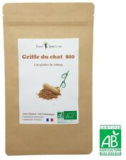 Griffe du Chat BIO - 120 gélules de 500 mg Biologique -