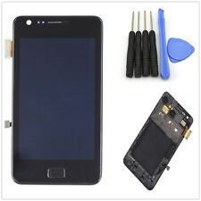 Nero LCD display + Touch Screen Glass Panel Frame for Samsung Galaxy S2 i9100