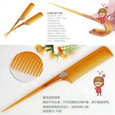 Hair Comb Straight Style Parting Rat Tail Plastic Professional Fine Tooth Teeth