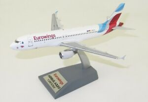 JFOX JFA320018 1/200 EUROWINGS AIRBUS A320-214 REG: D-ABHG WITH STAND
