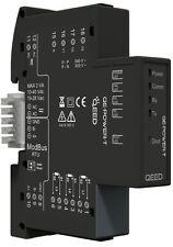 QE-POWER-T: Energy meter trifase 17.5 mm - Ingresso universale per TA