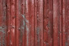 Shabby Red Painting Wood 7x5ft Photography Background Studio Photo Prop Backdrop