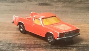 Lesney Matchbox Superfast 1977 Red Holden Red Pick-Up No. 60  Made in England